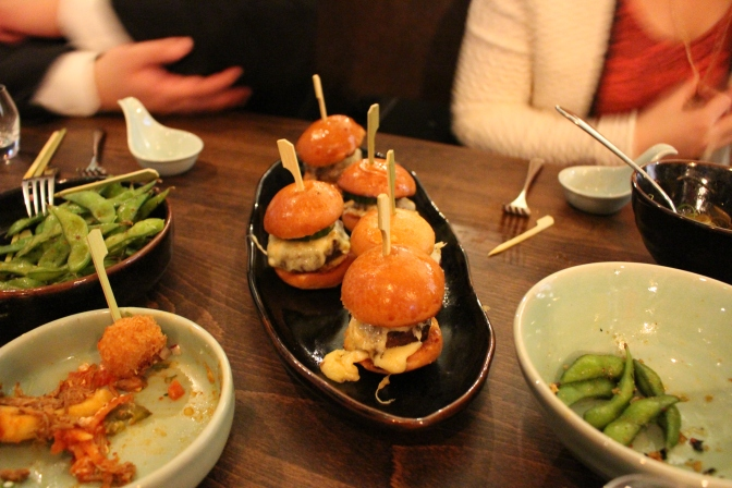 A little bit of what we ate and drank at Jinjuu